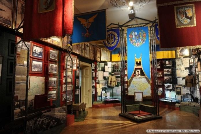 Інтер'єр музею визвольної боротьби України. Сучасне фото