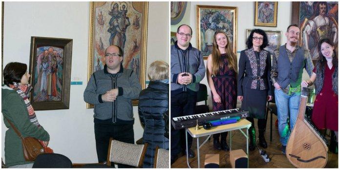 Ніч в музеї Олекси Новаківського, або концерт від гурту