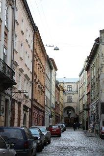 Вулиця Вірменська у Львові, фото Олена Високолян, 2015 рік