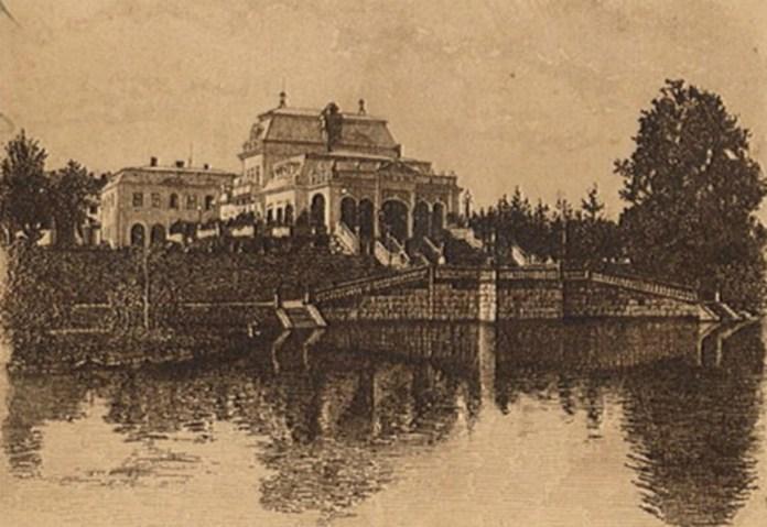 Палац родини Баворовських у Острові