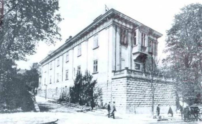 Палац Баворовських, 1916 рік