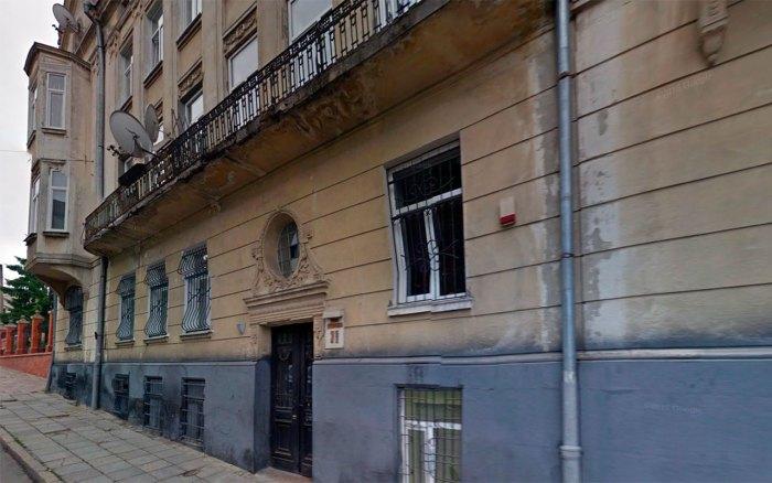 Будинок на вул. Мохнацького (сучасна Драгоманова), 38, де мешкав Францішек Яворський