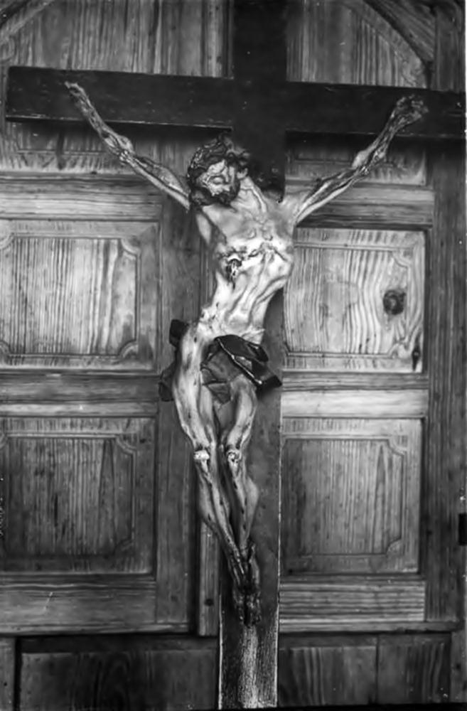 Й.Г. Пінзель. Розп'яття. Костел Усіх Святих у Годовиці, фото 1925 року
