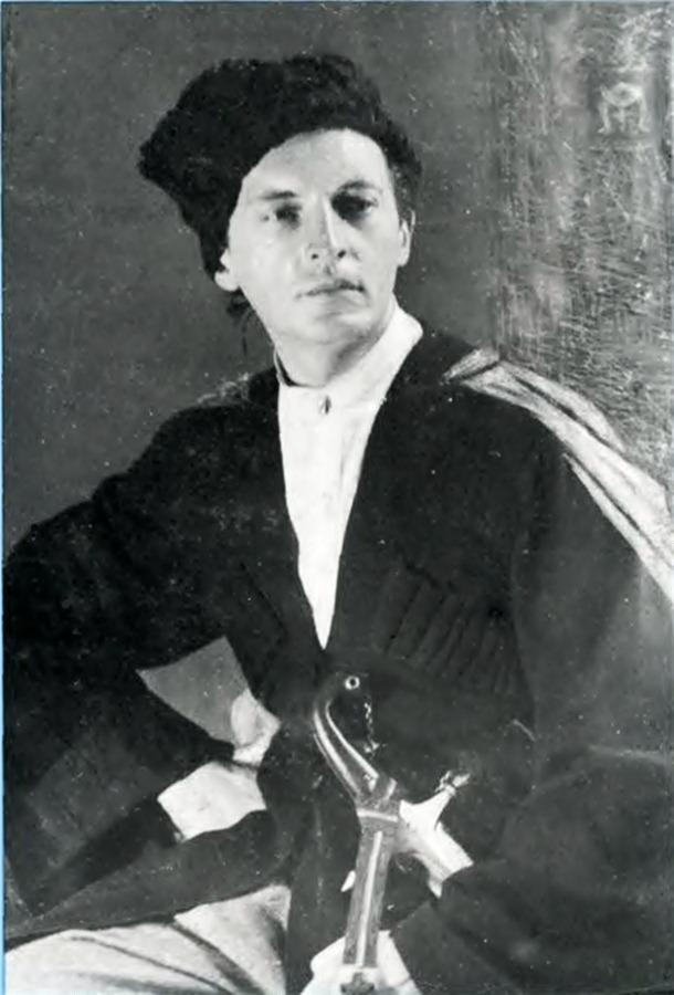 Леонід Перфецький – наддніпрянський козак. Фото з сайту milua.org