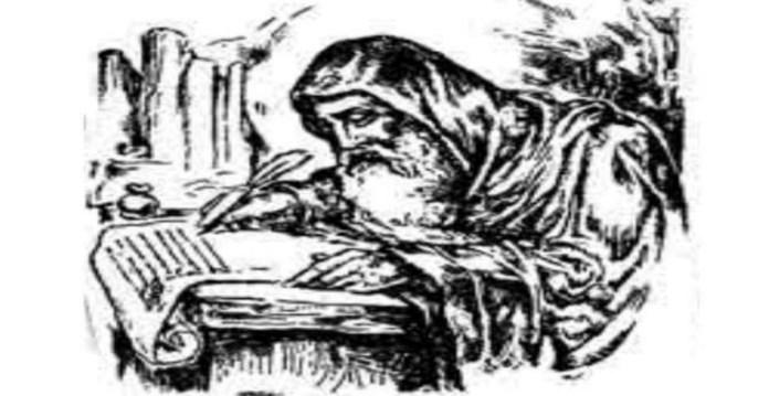 Зображення переписувача часів Київської Русі