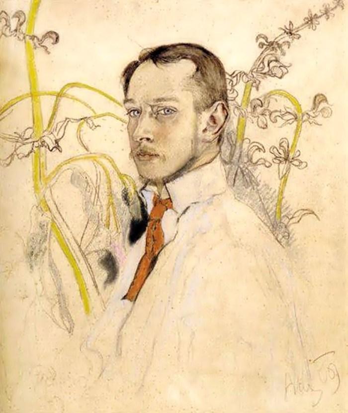Казимир Сіхульський. Автопортрет, 1909 рік
