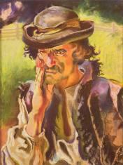 Казимир Сіхульський. Гуцул (Стурбований гуцул), 1906 рік