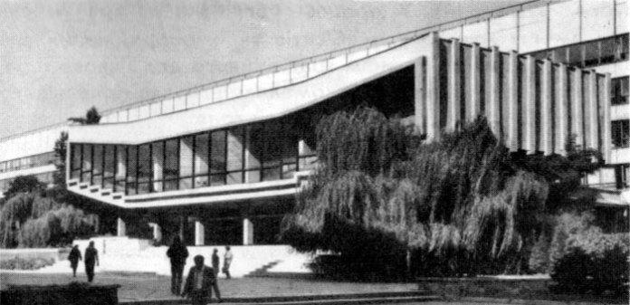 Львів, Аудиторний корпус Львівського політехнічного інституту, фото кінця ХХ століття