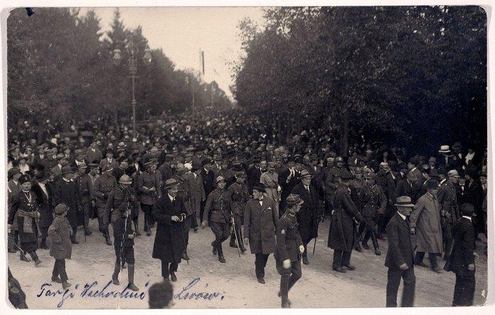 Відвідувачі на Східних Торгах. Фото 1925 р.