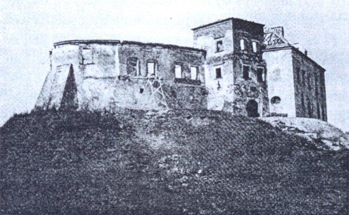 Олеський замок. Фото 1960 року