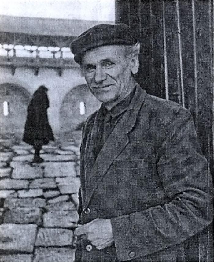 Борис Возницький в Олеського замку, 1975 рік