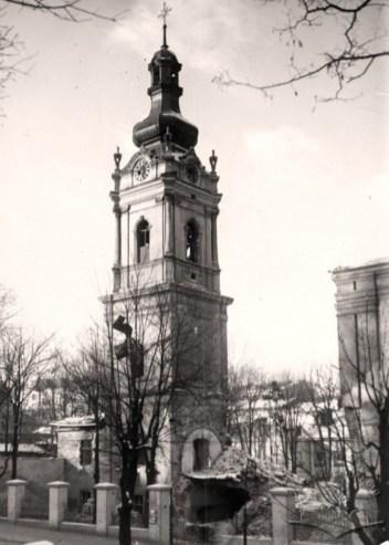 Зруйнована семінарія Святого Духа. Фото 1939-1941 рр.