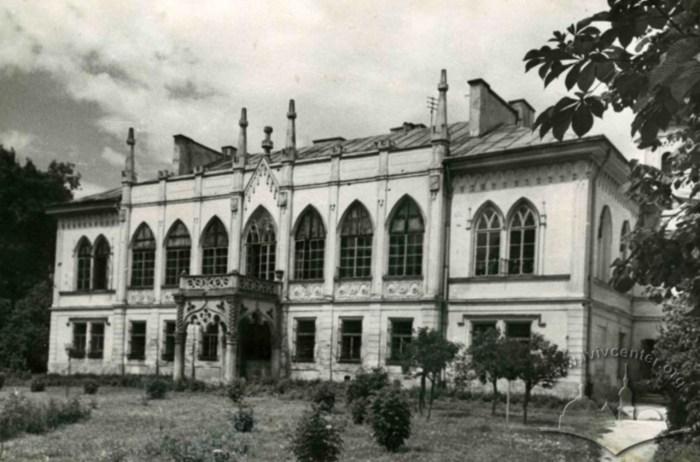 Палац Туркулів-Комелло після часткової перебудови. Фото 1960-х рр.