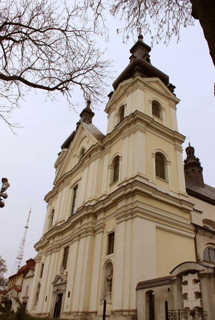 Храм кармелітів босих – теперішня церква св. Михайла