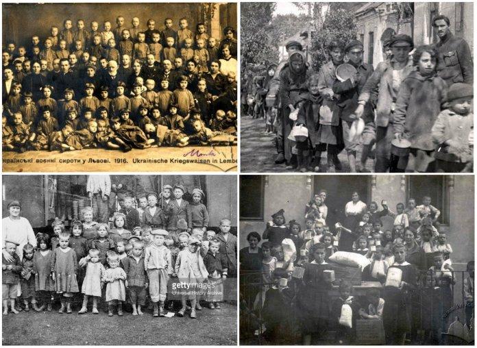 Один епізод з життя львівських сиріт часів Першої світової війни