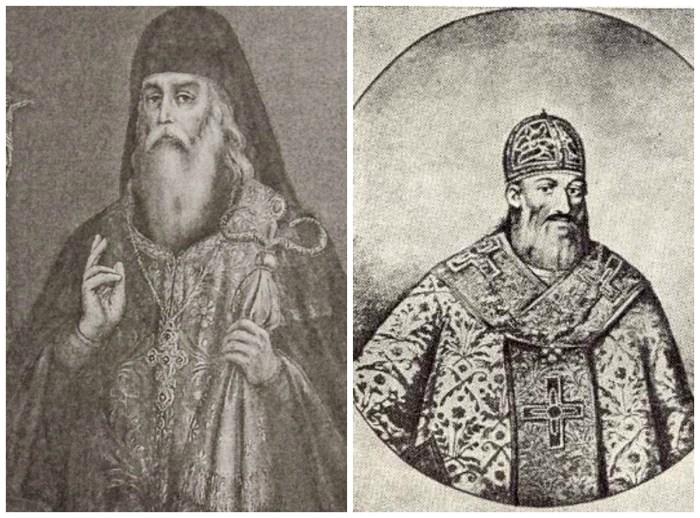 архімандрит Захарія (Копистенський) і митрополит Йов (Борецький)