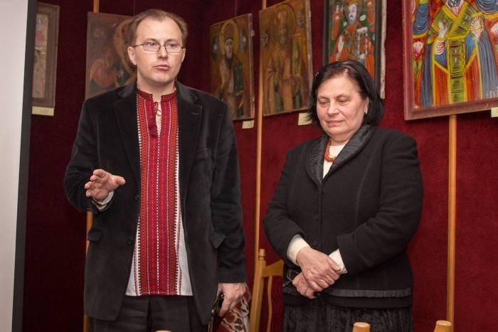 Тарас Каляндрук та Марія Магунь
