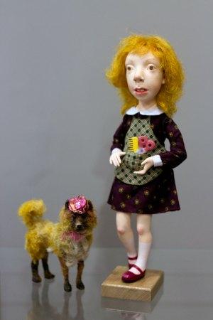 Експозиція вистаки Олени Цілуйко та Вікторії Проців під назвою «Ми родом з дитинства»