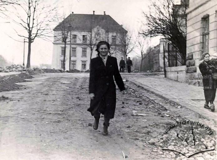 Вулиця Інститутська (сучсна Мушака), 1950-1960 рр.
