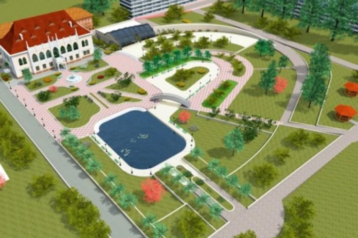 Проект реставрації палацу Туркулів-Комелло та прилеглої території. Автор проекту Остап Готь