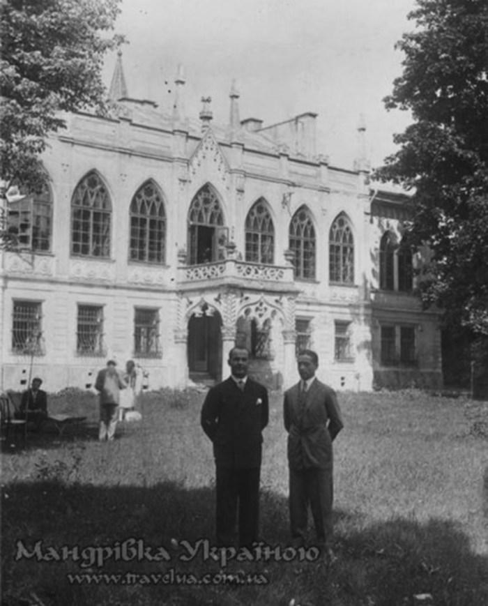 Палац Тукркулів-Комелло до перебудови. Фото першої пол. XX ст.