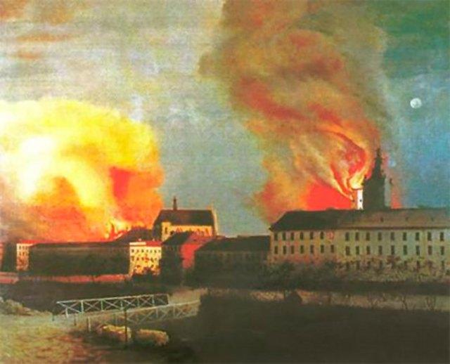 Пожежа середмістя Львова 2 листопада 1848 року