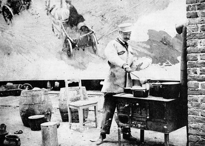 Войцех Коссак малює Рацлавицьку панораму, 1894 рік