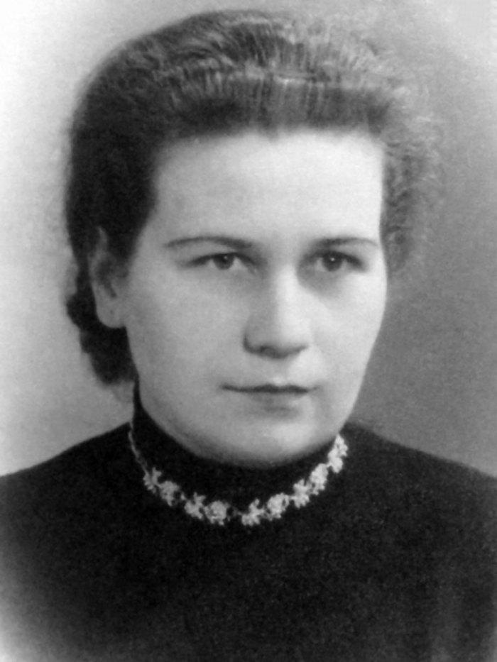 Оксана Паламарчук, фото 1958 року