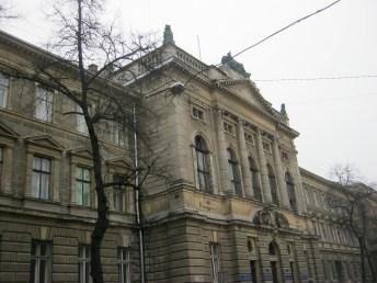 Колишній будинок крайового суду («Будинок справедливості») по вул. Князя Романа 1-3, фото 2016 р.