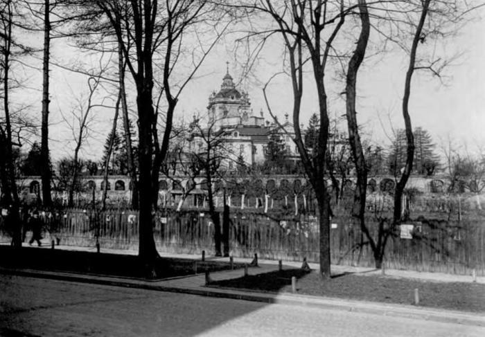 Собор св. Юра, світлина 1930 р. - http://sobor-svyura.lviv.ua/istoriya/