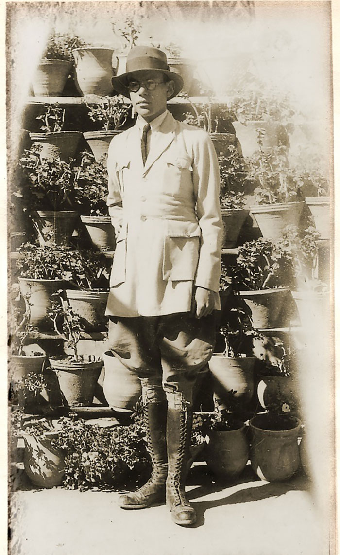Леопольд Вайс у підмандатній Палестині, початок 1920-х рр.
