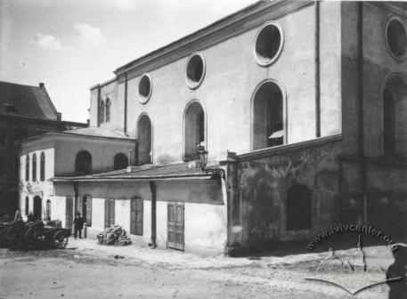 Велика передміська Синагога. Фото 1900-1939 рр.