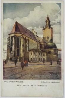 Одо Добровольський. Площа Катедральна, 1910