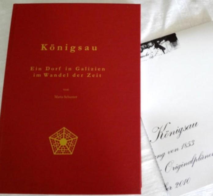 Німецькомовна праця присвячена історії німецької колонії Кьонігсау (с. Рівне)