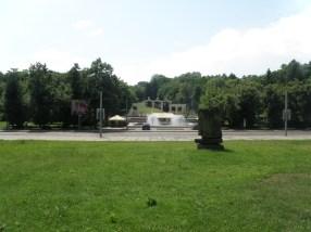 Площа перед входом до парку Культури по вул. Вітовського. Сучасне фото