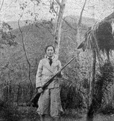На полюванні в Тонкіні, початок 1930-х рр. (Північний В'єтнам; сучасна назва – Бакбо) (фото С. Яблонської)