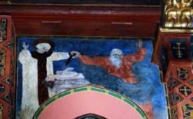 Жертвоприношення Авраама (фреска у Вірменському соборі)