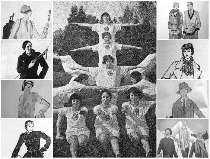 «Спортова» мода Львова 1920–1930-х рр., або що вбирали українські панянки для активного відпочинку