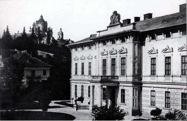 Палац Голуховських. Фото Юзефа Едера
