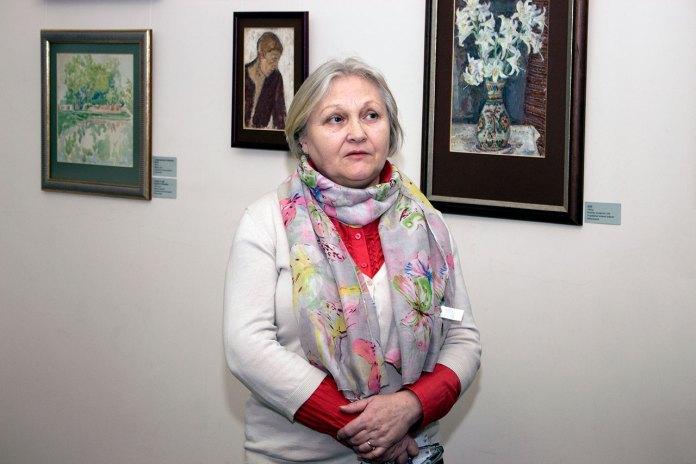Завідувач Художньо-меморіального музею Олени Кульчицької Любов Кость