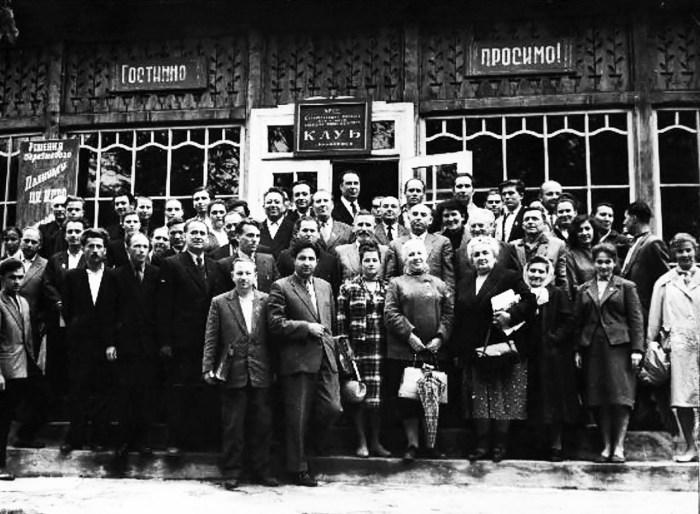 Відкриття музею І.Франка у Криворівні. 1956