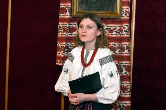 Вчений секретар музею Софія Легін
