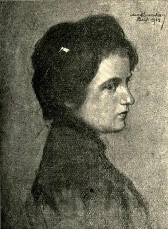 Портрет жінки, 1919