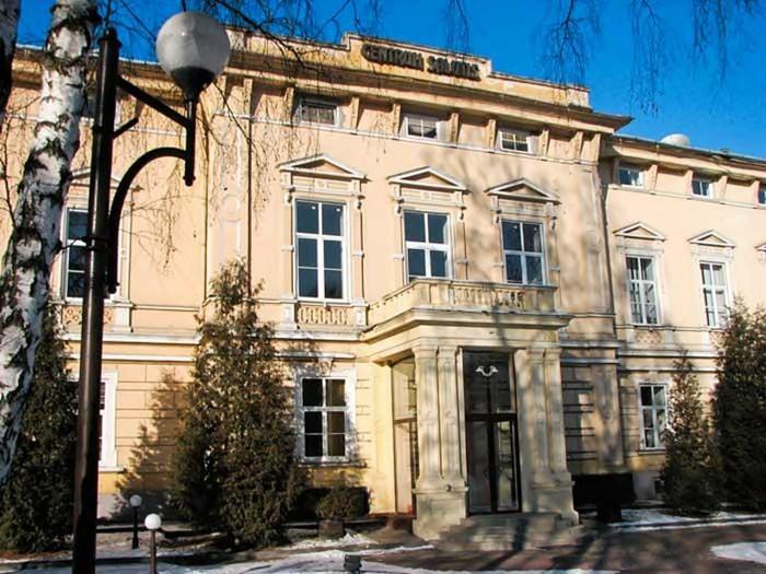 Палац Ґолуховських, збудований 1865 р. за проектом Карла Окмана