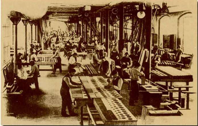Активна робота на фірмі «Rieger» бл. середини XXст ( джерело фото http://www.rieger-kloss.com/history.php)
