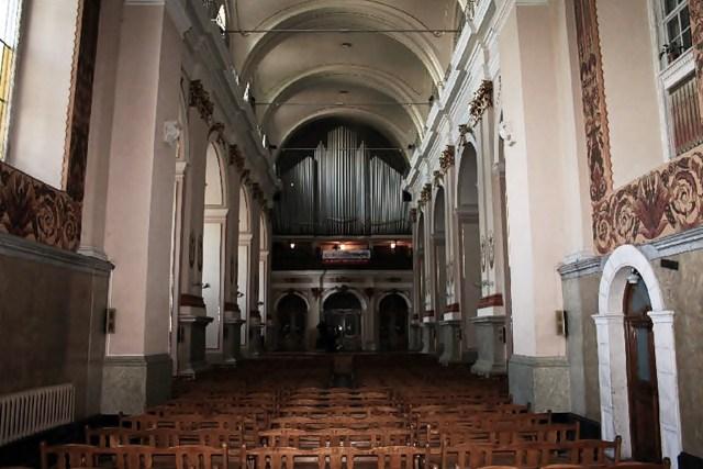 Костел святої Марії Магдалини, вигляд органу
