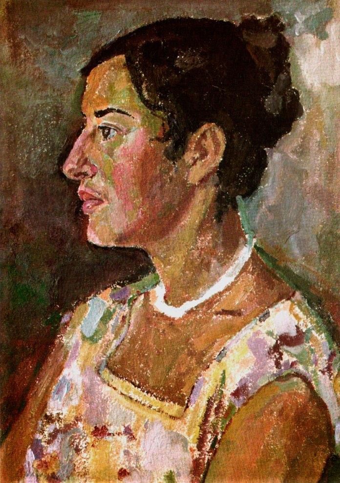 "Ольга Плешкан ""Портрет Софії Стефаник"", 1960 р."
