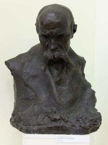 Ярослав Тишинський, погруддя Тараса Шевченка, 1909 р.
