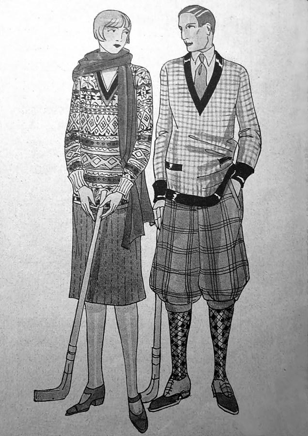 Одяг для гольфу, 1926 р.