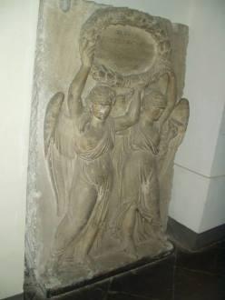 Збережена меморіальна таблиця з військового басейну на Пелчинському ставі, що була присвячена генералу Френелю. Таблиця знаходиться в Історичному музеї (пл. Ринок 4)